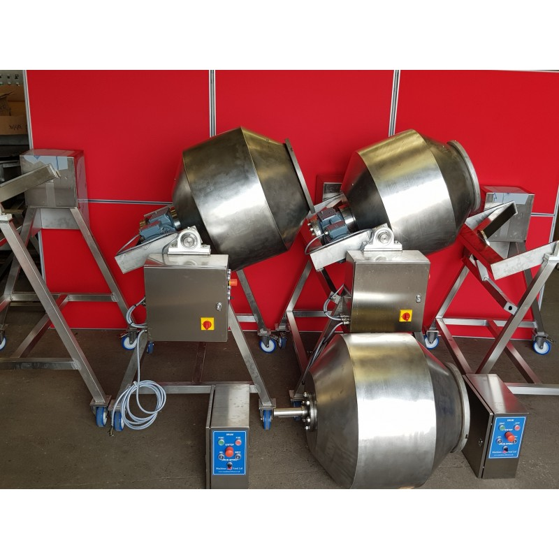 New Stainless Steel Tumblers, concrete mixer